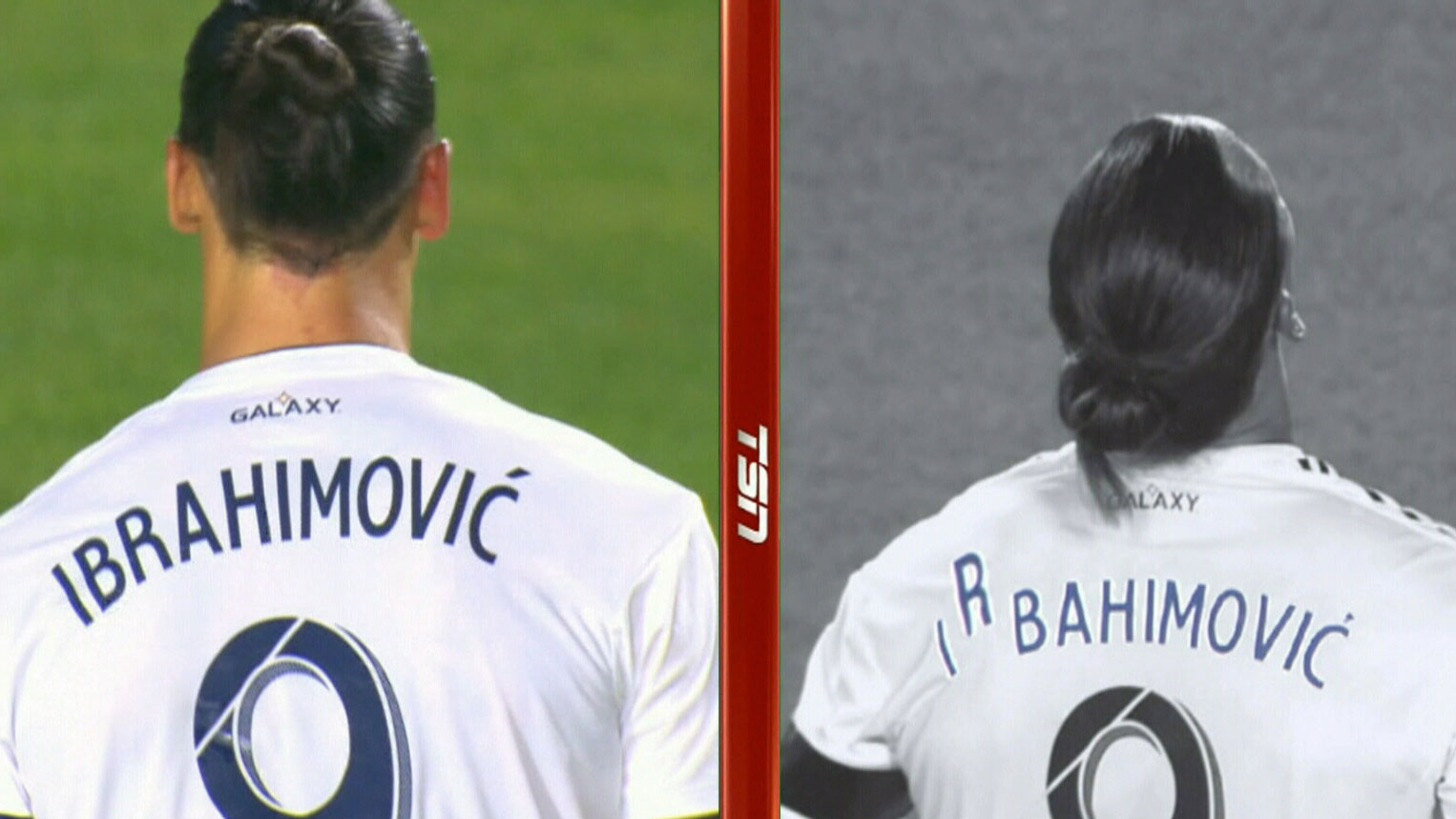 pretty nice 31434 dac71 Fans quick to notice typo on LA Galaxy player Zlatan ...