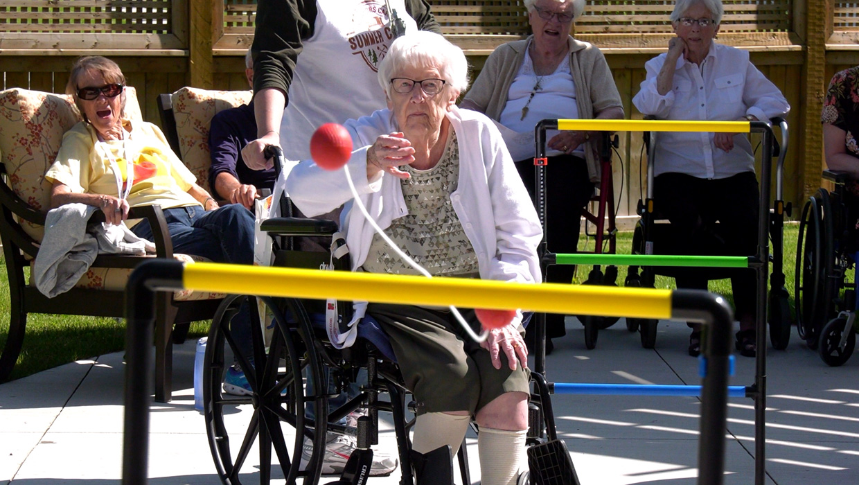 Summer camp for seniors sparks happy memories and builds new