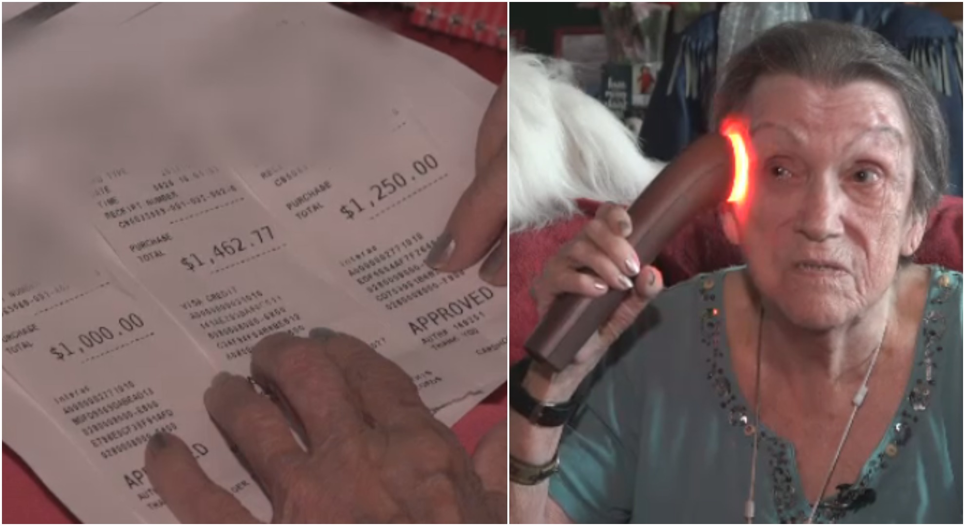 Senior buys $10,000 in beauty products after accepting free