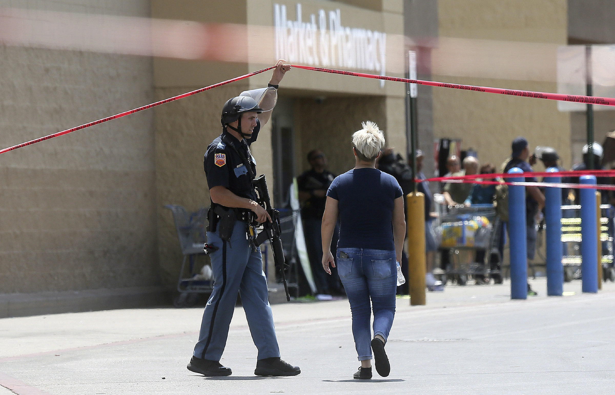 Walmart wrestles with how to respond to active shooters in its