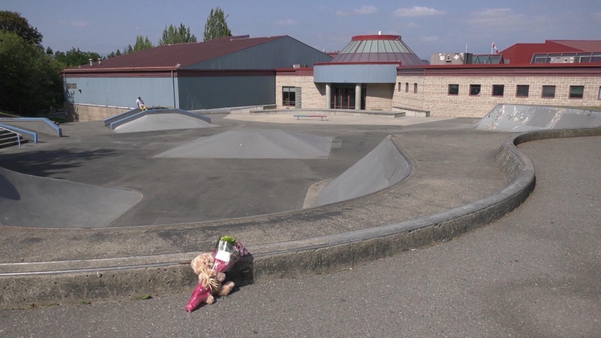 Death of teen found near Langley, B C  skate park believed