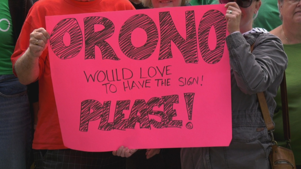Small Ontario town named Orono asking city to donate old