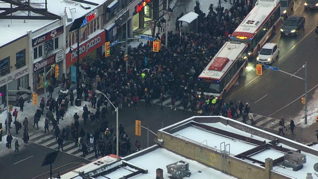 Image result for ttc subway derailed