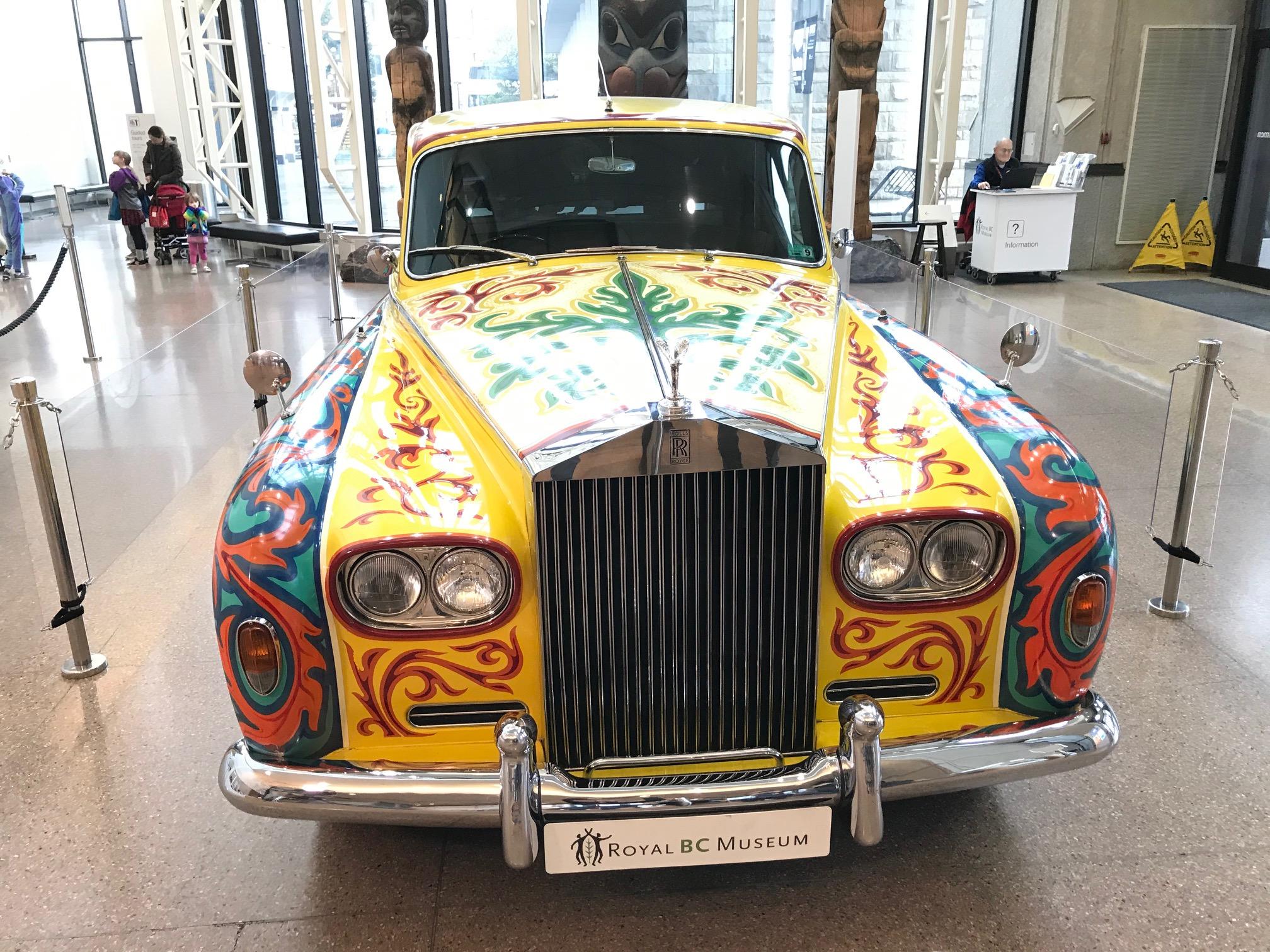 John Lennon S Historic Rolls Royce Now On Display At Royal Bc Museum Ctv News