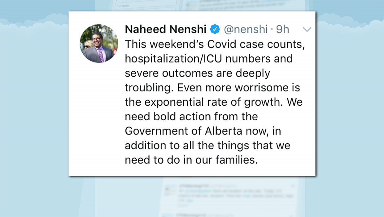 Nenshi Calls On Province To Take Bold Action As Alberta Breaks Daily Covid 19 Case Record Ctv News