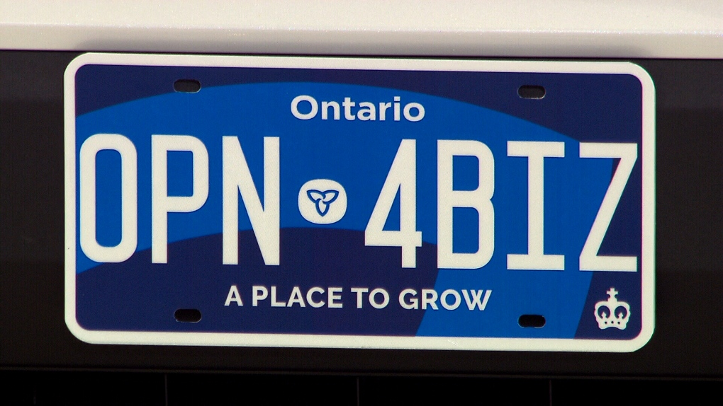 Ontario S New Licence Plates Hit The Road Here S What You Need To