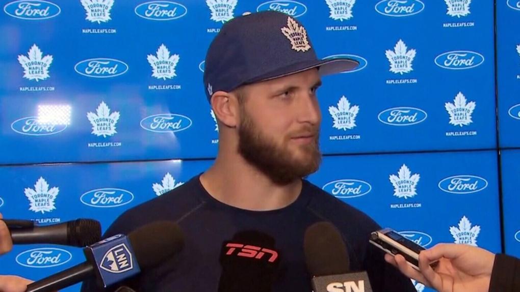 Ayr Nhler Makes Toronto Maple Leafs Debut Ctv News