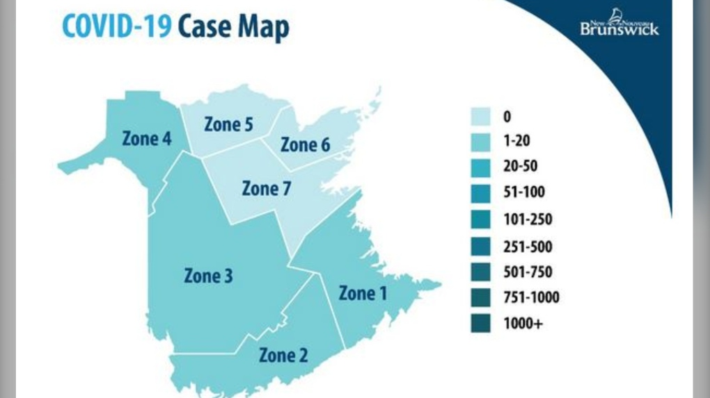 12 New Cases Of Covid 19 In N B 1 Investigated As Possible Case Of Community Transmission Ctv News