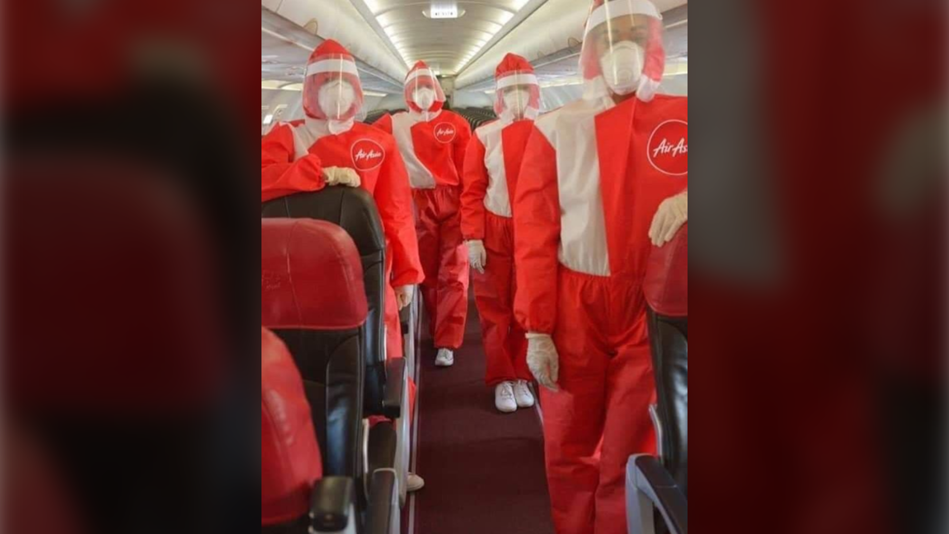 Airasia Tests Chic New Ppe Uniforms For Cabin Crew On Recovery