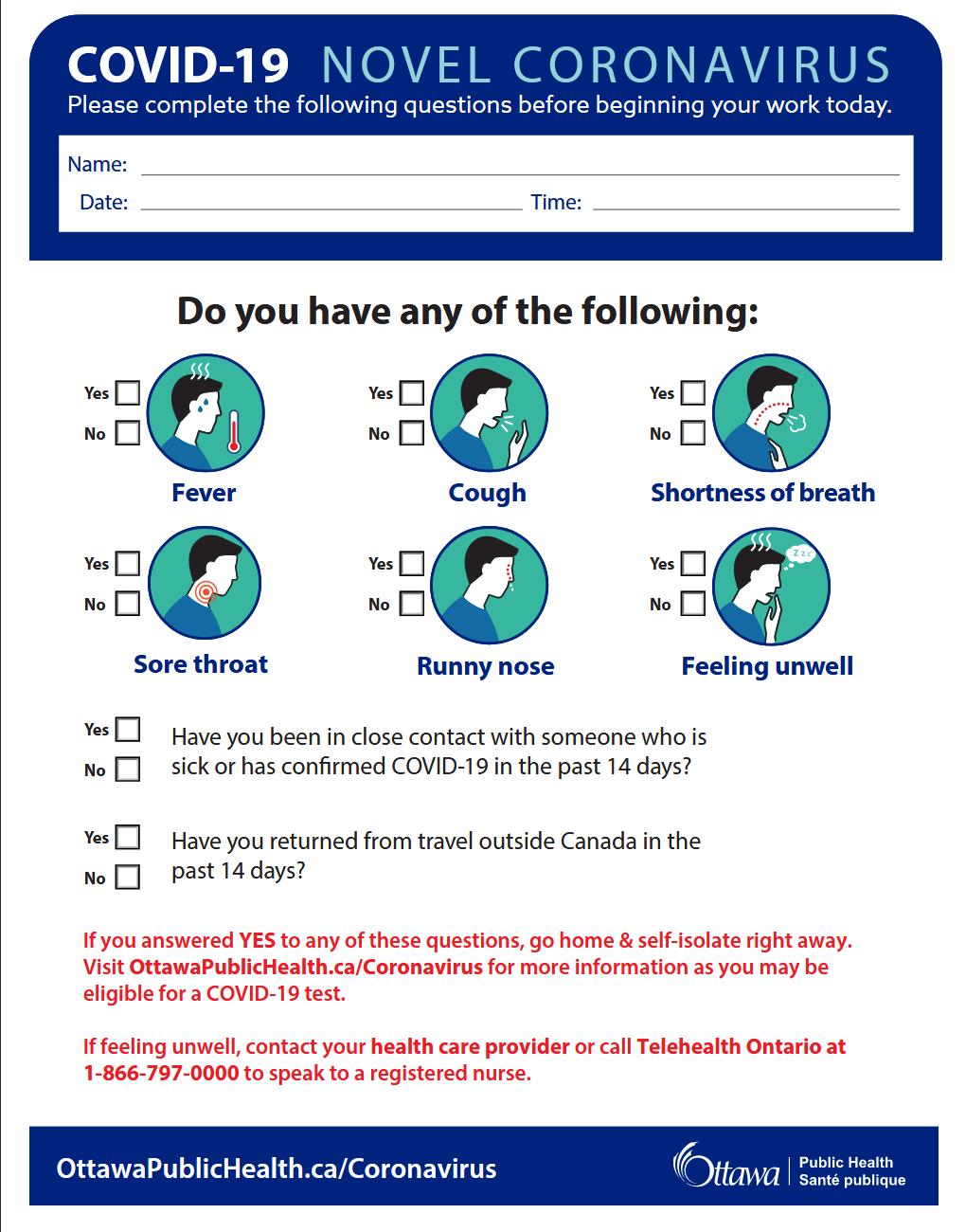 Ottawa Public Health Develops Covid 19 Assessment Tool For Businesses Ctv News