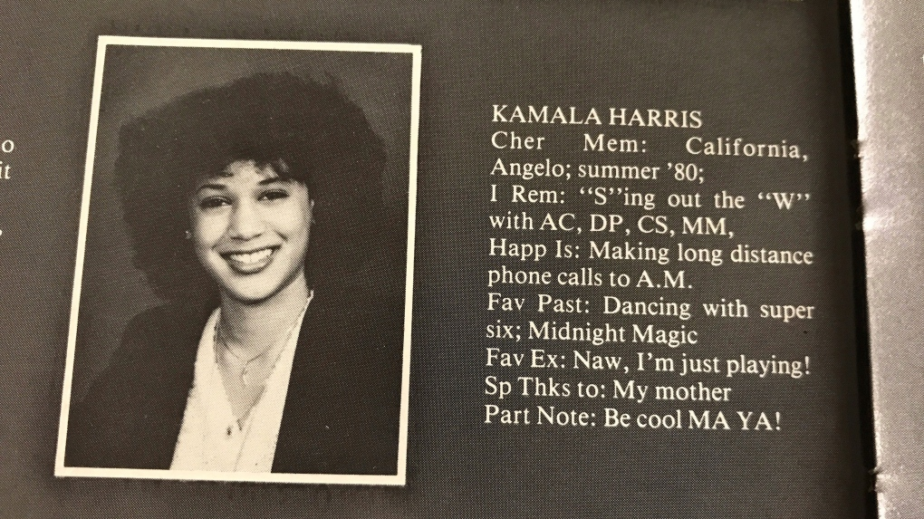 How Canadian Is She Probably More Than You Think Say Kamala Harris One Time Montreal Classmates Ctv News