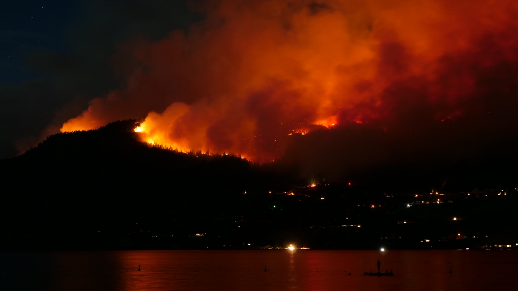 Canada Fire Map Kelowna Here's a map of all the wildfires currently burning in B.C. | CTV News