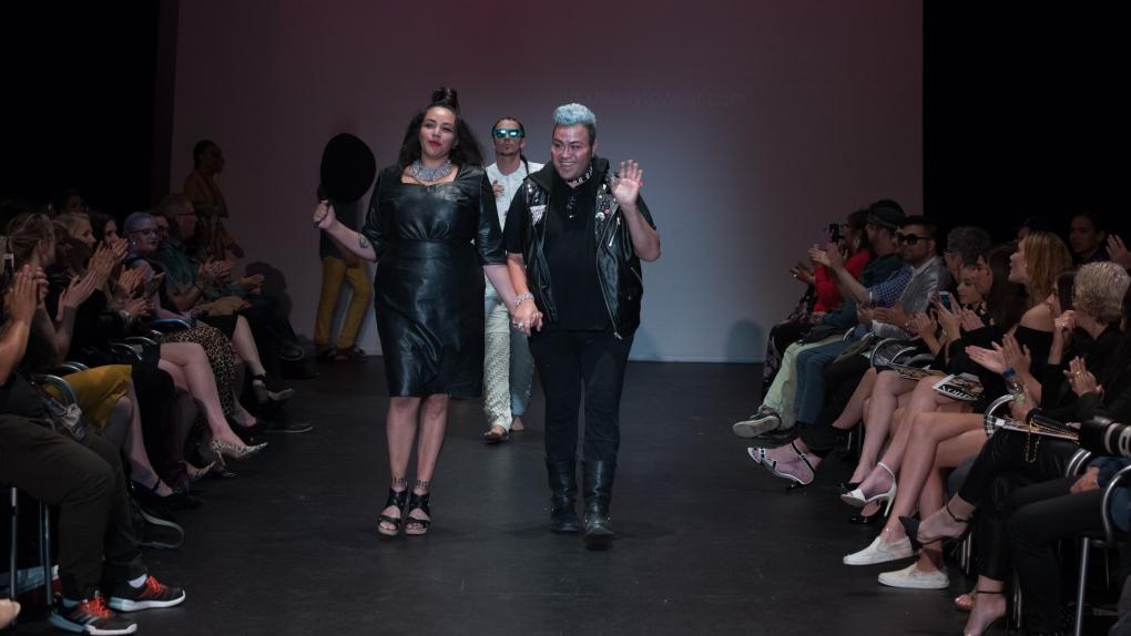 Designer Introducing Indigenous Fashion To A List Names Like Kim K Sophie Trudeau Ctv News