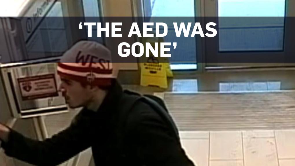 Man reports fake cardiac arrest, steals defibrillator in