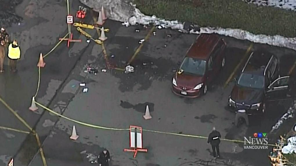 Delta police investigating assault, stabbing in front of