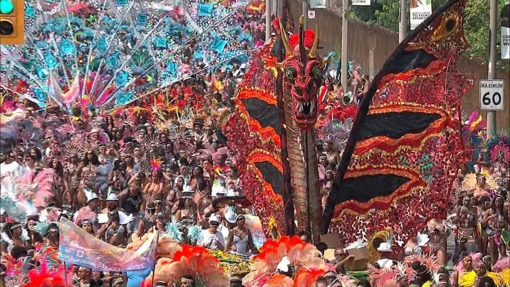Toronto Caribbean Carnival Grand Parade gets a new route   CTV News