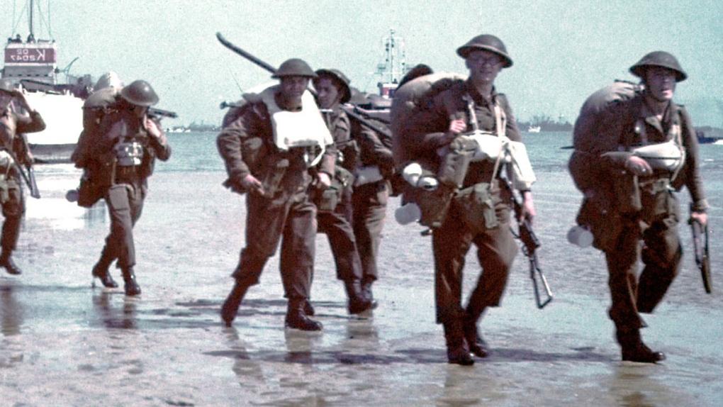 Original colour photographs of the Second World War bring D