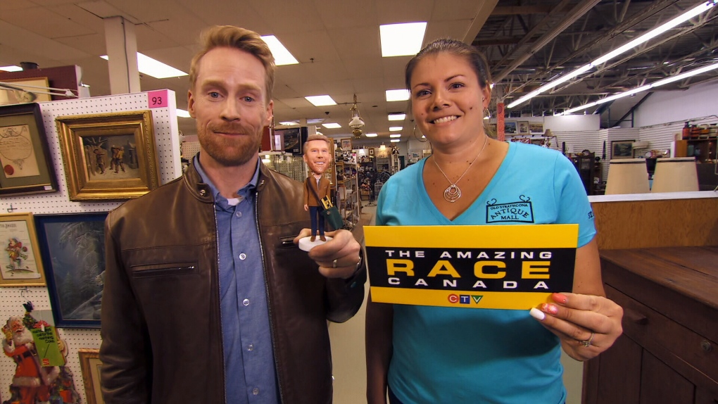 Edmonton business featured in this week's Amazing Race | CTV
