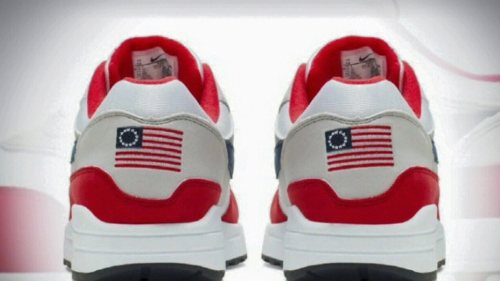 24e663099f68 Nike pulls 'Betsy Ross Flag' shoe after Colin Kaepernick objects ...