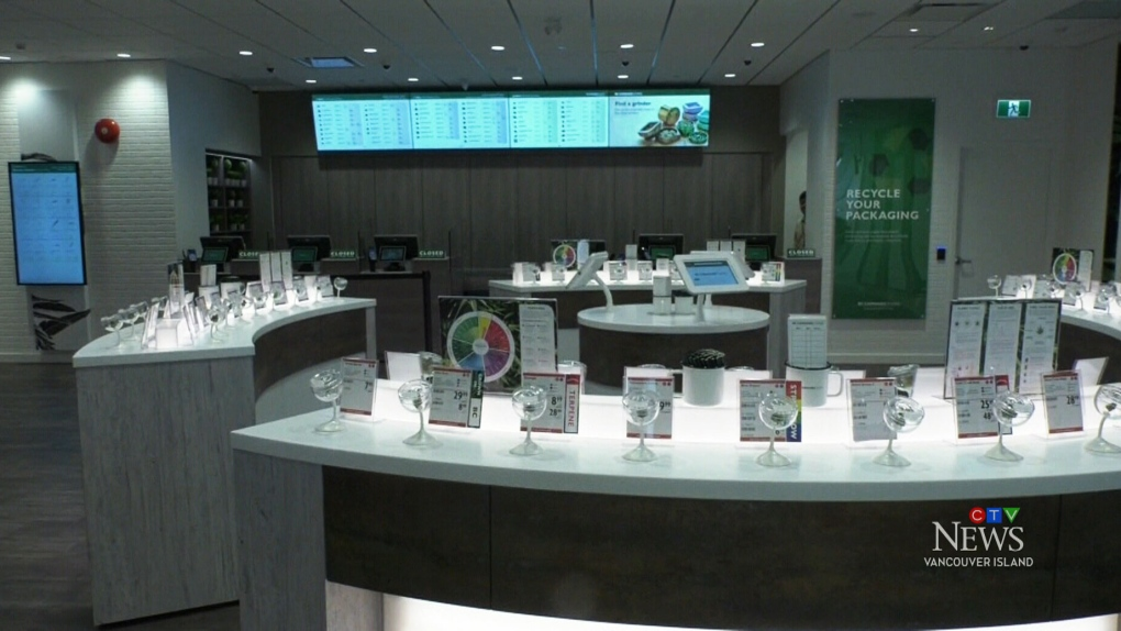 First BC Cannabis Store on Vancouver Island opens today