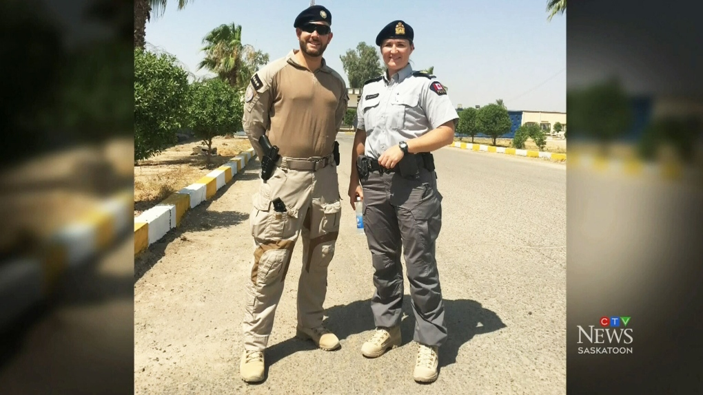 Saskatoon Police Service member returns from training Iraqi officers