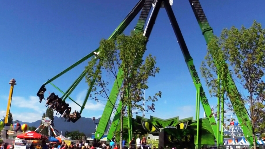 Part failure' caused thrill ride at Vancouver amusement park