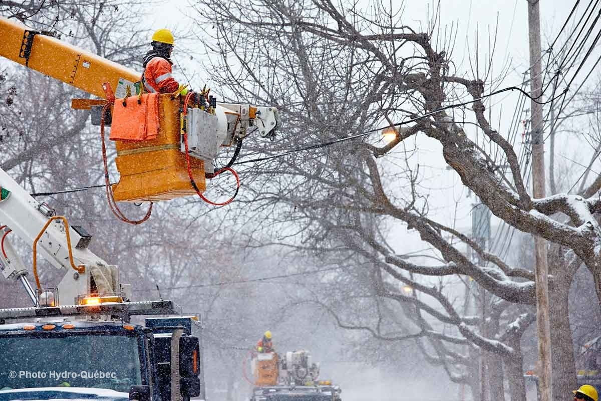 Over 8 500 Customers Without Power Across Quebec Ctv News