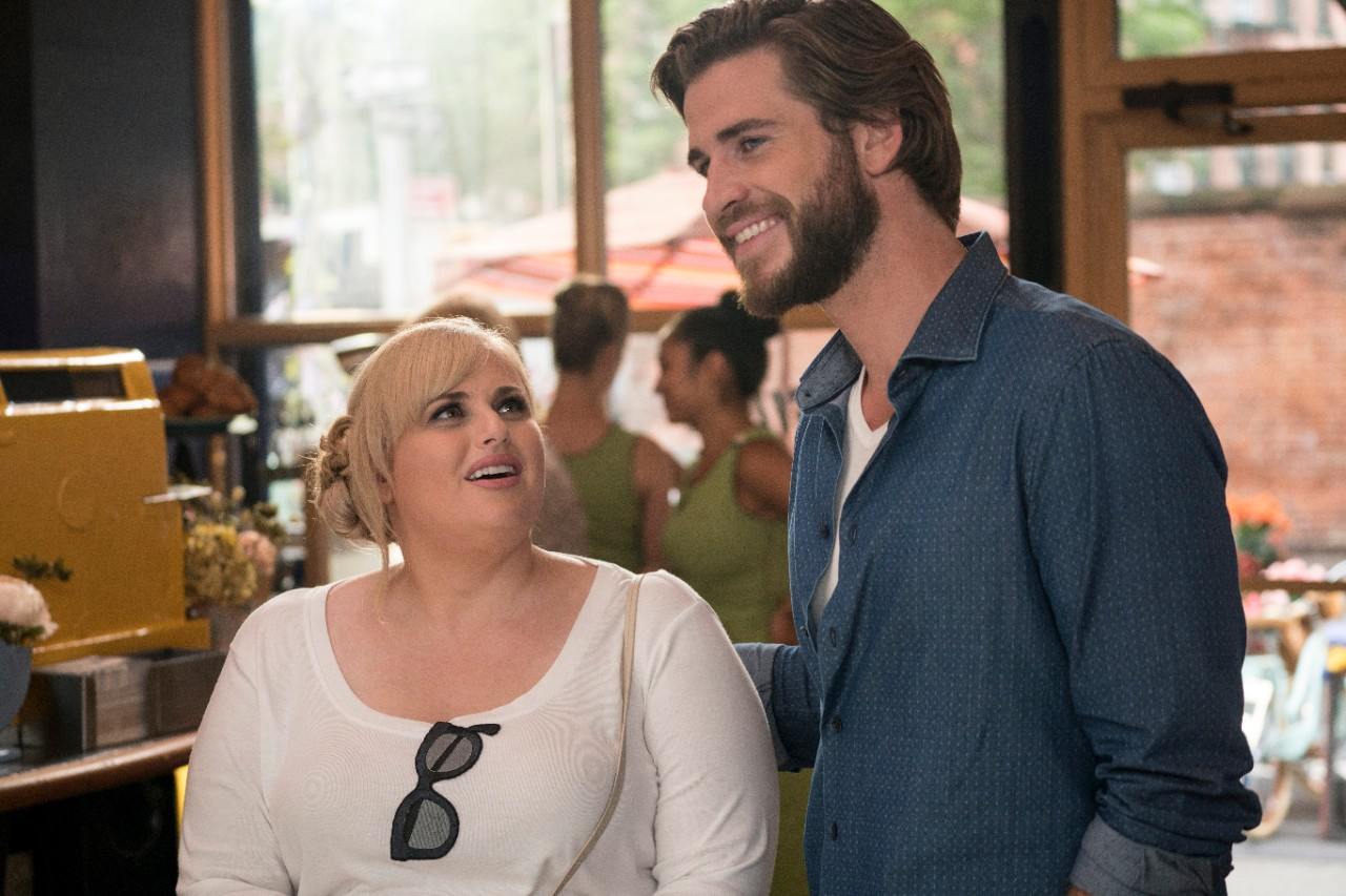 Rebel Wilson and Liam Hemsworth in 'Isn't It Romantic'