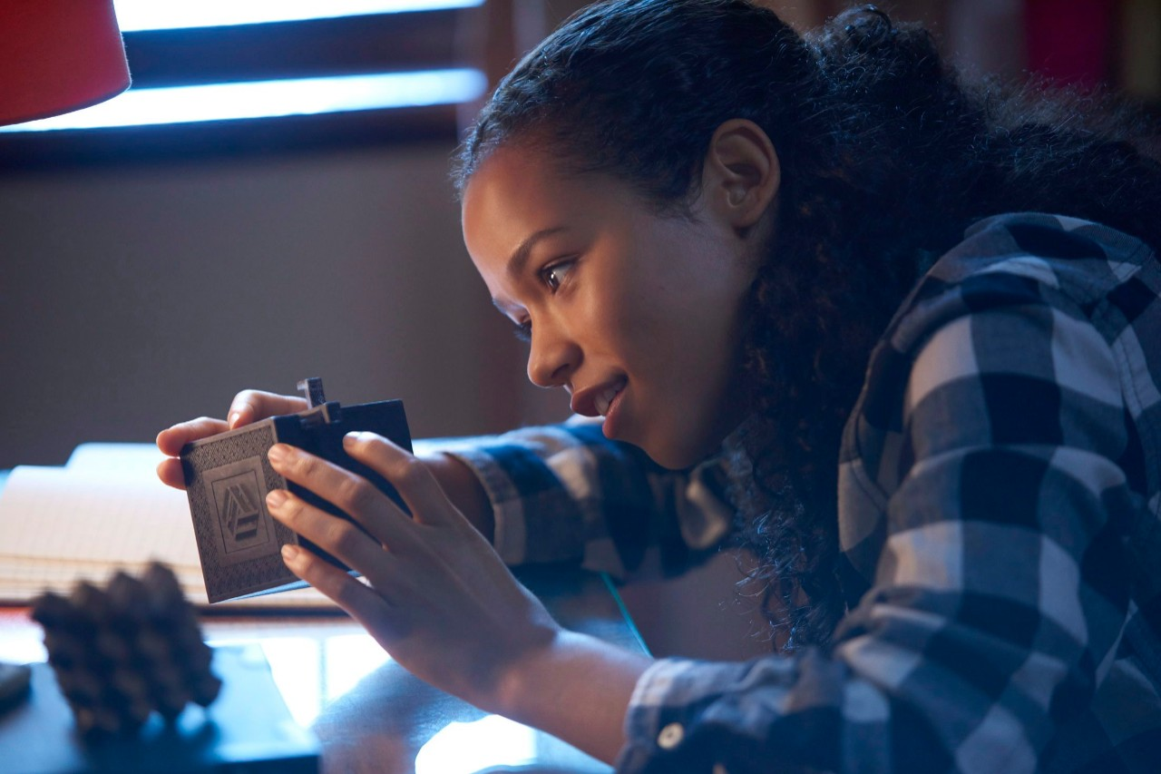 Taylor Russell in 'Escape Room'