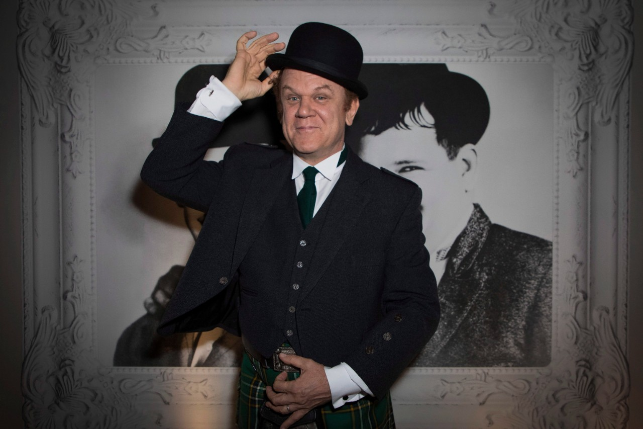 John C. Reilly at a party for the film 'Stan and Ollie'