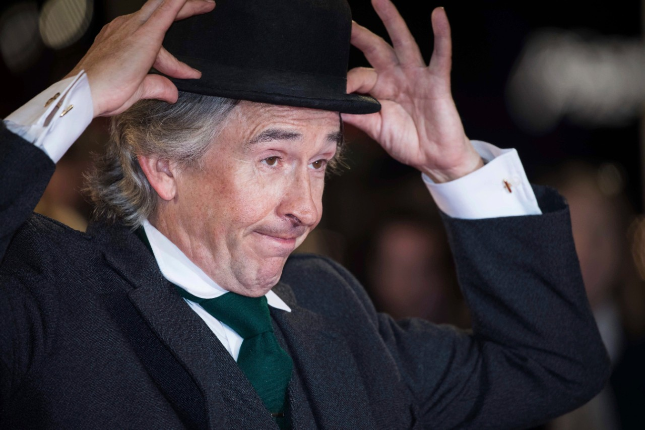 Steve Coogan at the London Film Festival premiere of 'Stan and Ollie'