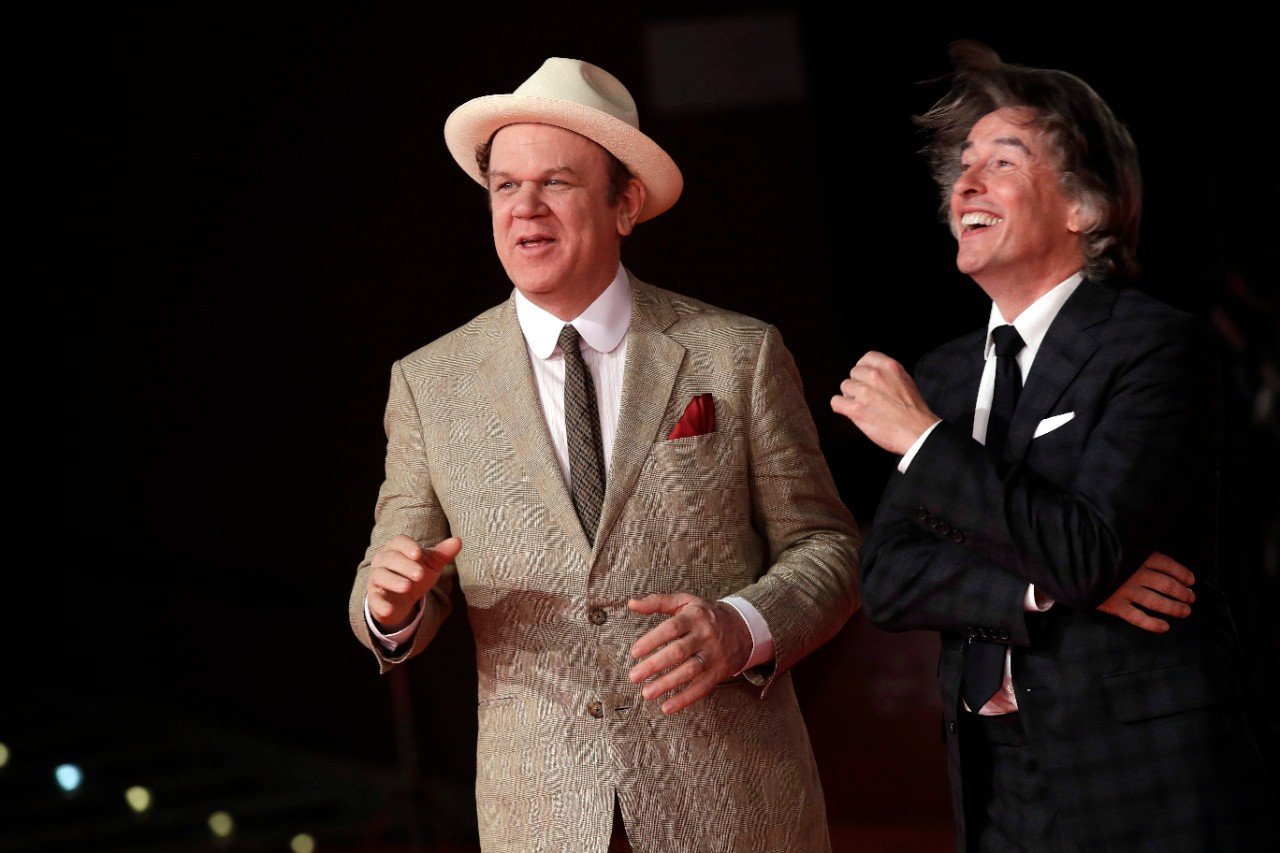 John C. Reilly and Steve Coogan at the Rome Film Fest