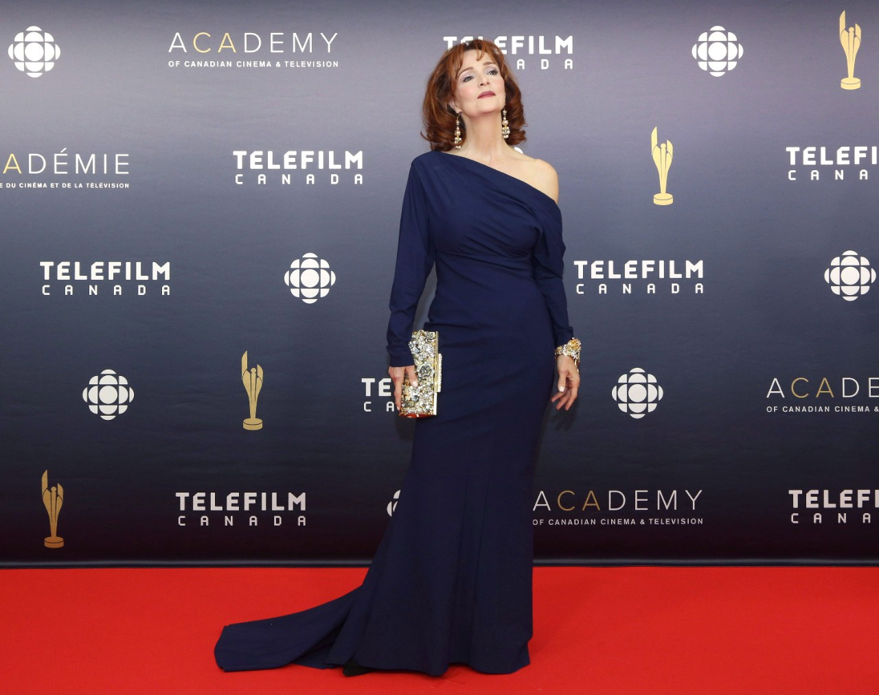 Jennifer Dale at the 2017 Canadian Screen Awards