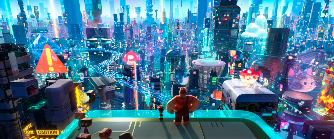 This image released by Disney shows a scene from 'Ralph Breaks the Internet.' (Disney via AP)