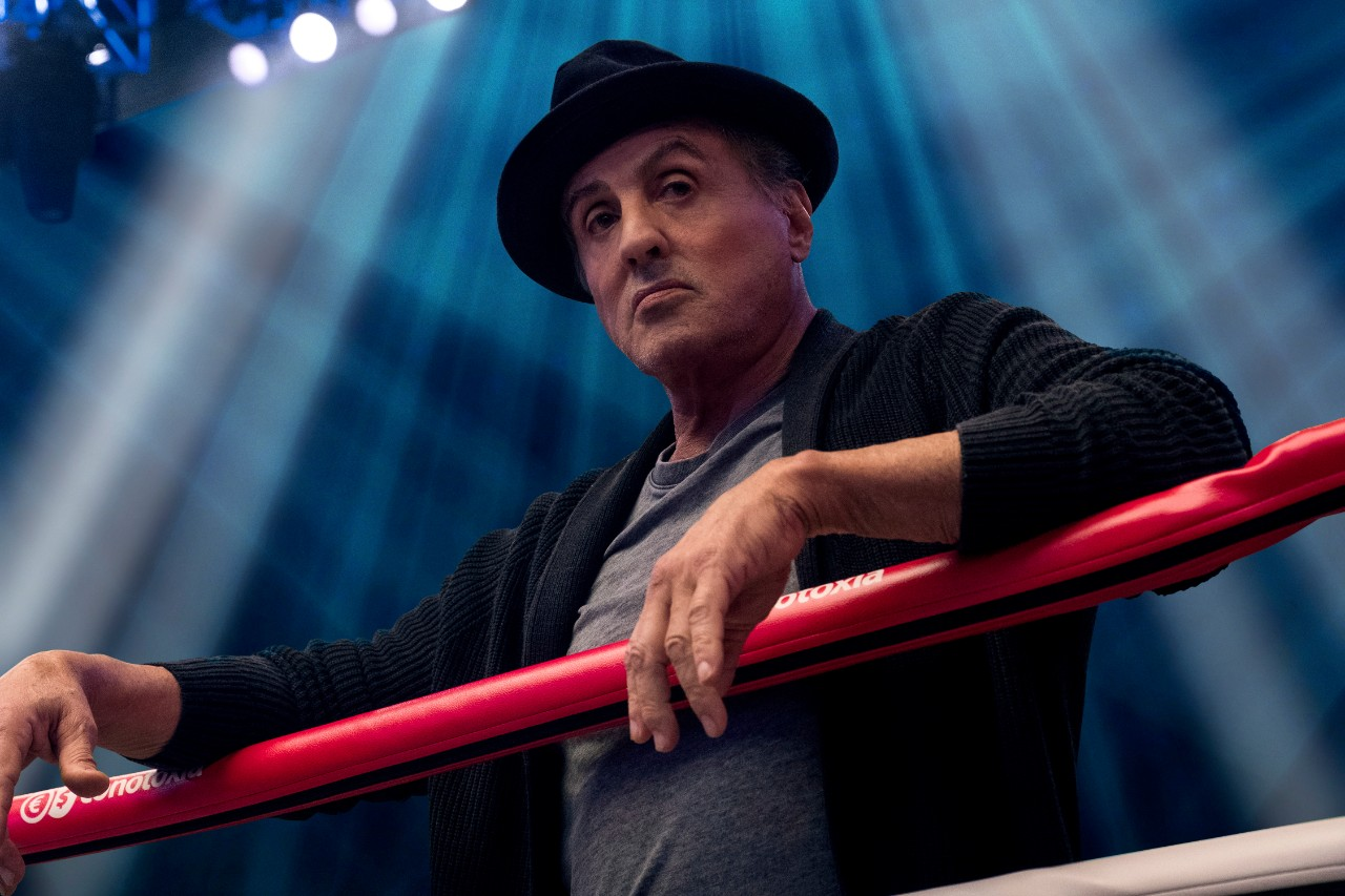 Sylvester Stallone in a scene from 'Creed II.'  (Barry Wetcher/Metro Goldwyn Mayer Pictures/Warner Bros. Pictures via AP)
