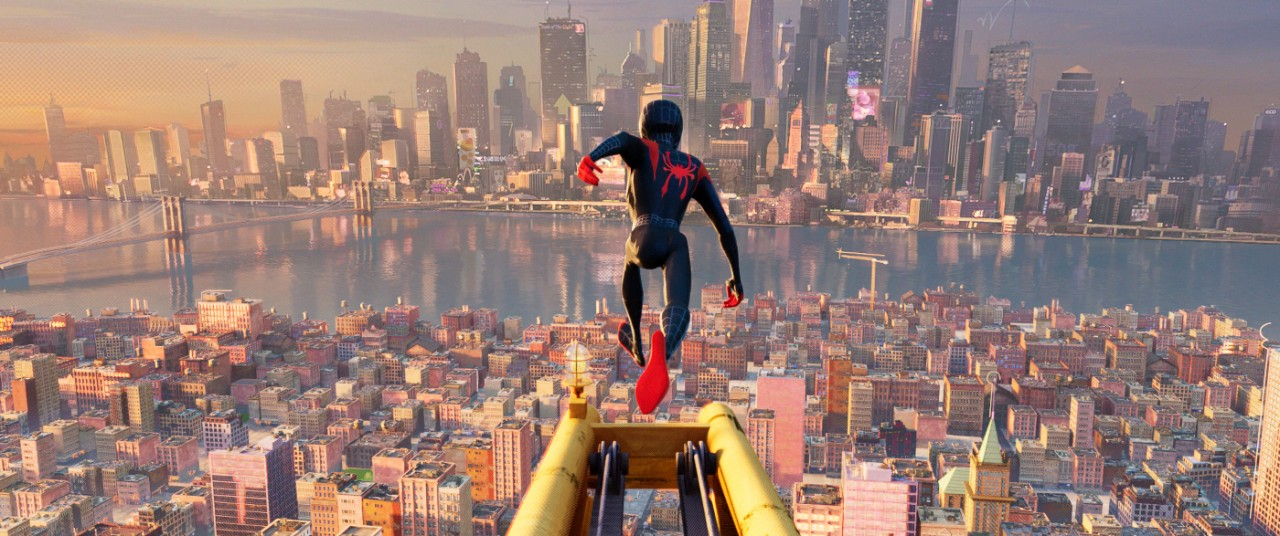 A scene from 'Spider-Man: Into the Spider-Verse.' (Sony Pictures Animation via AP)