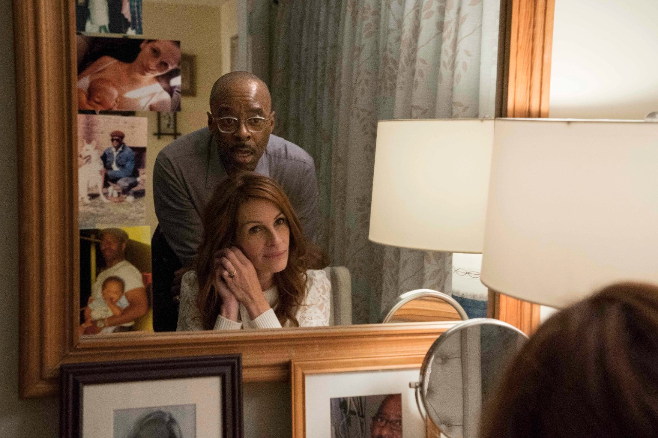 Courtney B. Vance and Julia Roberts in 'Ben is Back.' (Mark Schafer / Roadside Attractions via AP)