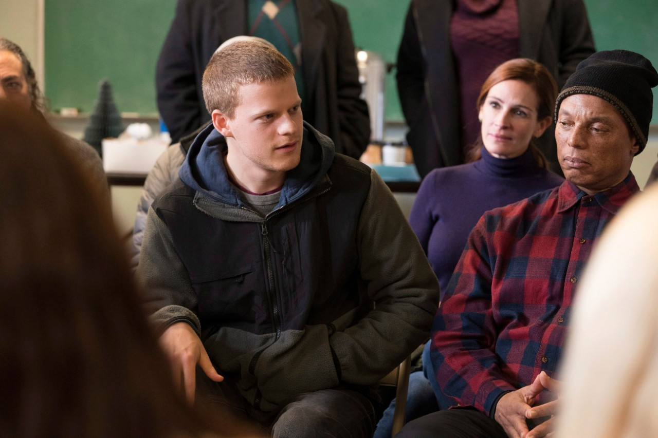 From left, Lucas Hedges and Julia Roberts in 'Ben is Back.' (Mark Schafer / Roadside Attractions via AP)