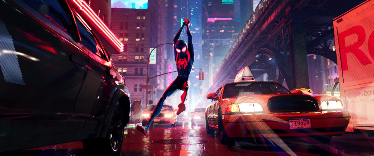 Miles Morales, voiced by Shameik Moore, in 'Spider-Man: Into the Spider-Verse.' (Sony Pictures Animation via AP)