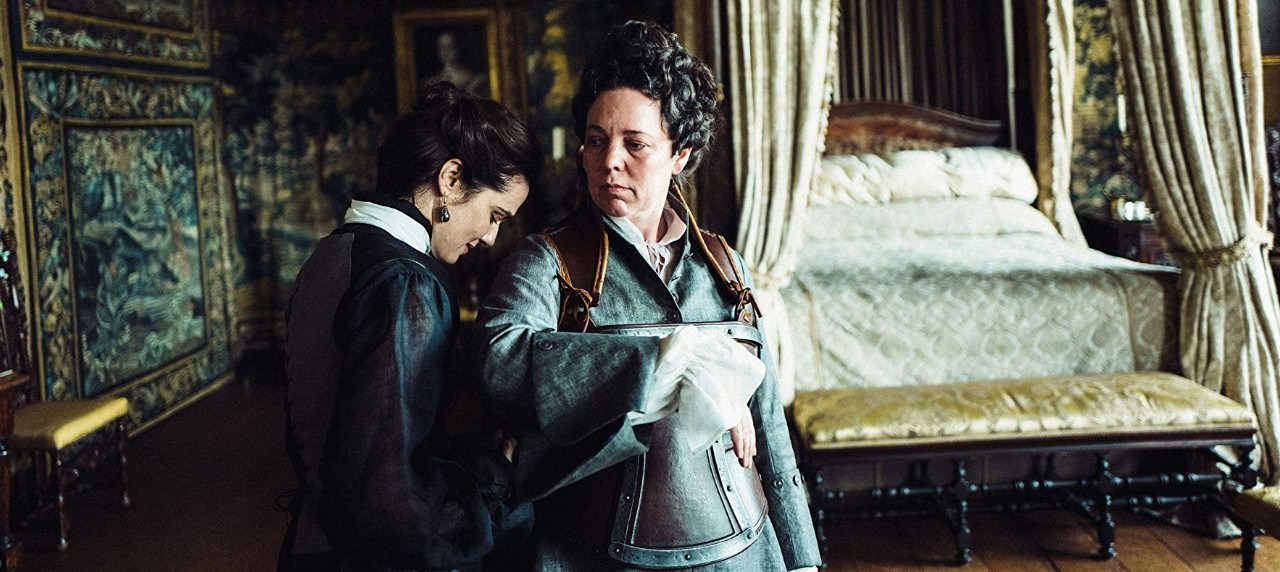 Rachel Weisz and Olivia Colman in 'The Favourite.'