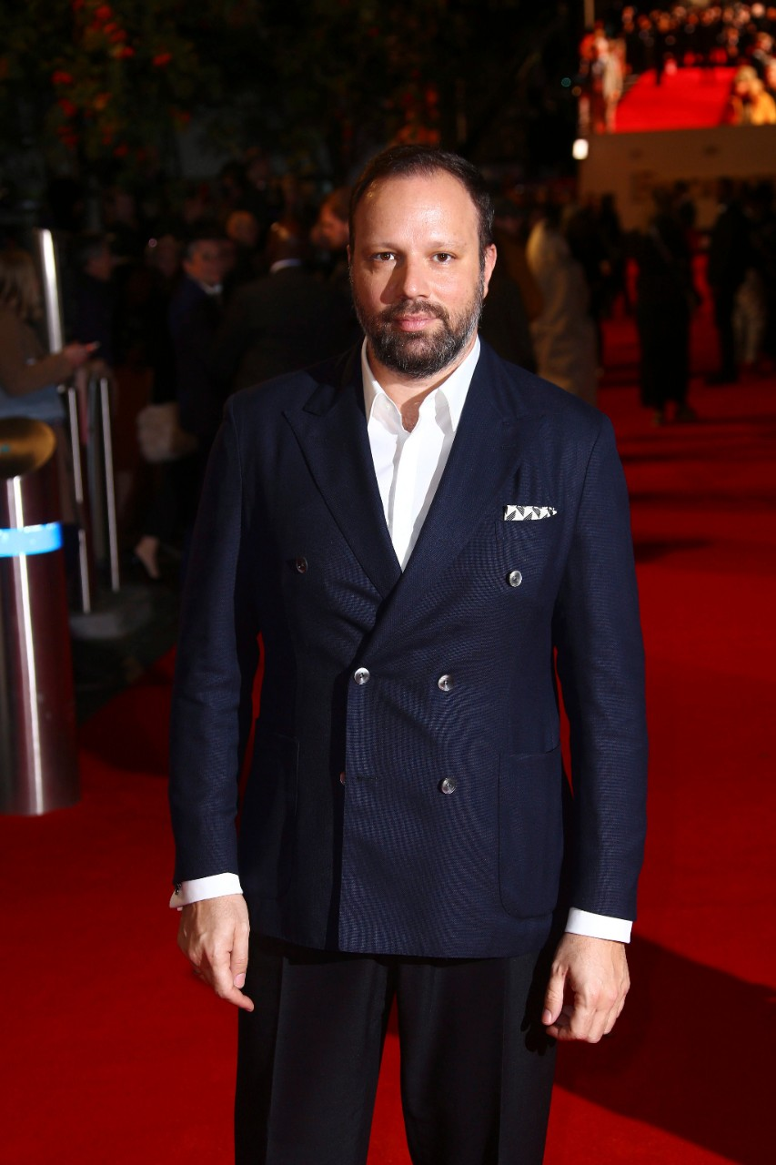 Director Yorgos Lanthimos at the premiere of 'The Favourite' in London, on Oct. 18, 2018. (Joel C Ryan / Invision / AP)