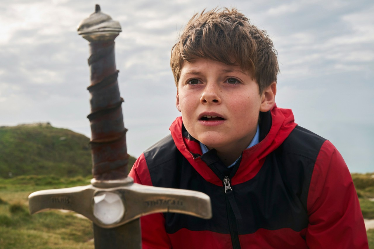 Louis Ashbourne Serkis in 'The Kid Who Would Be King'