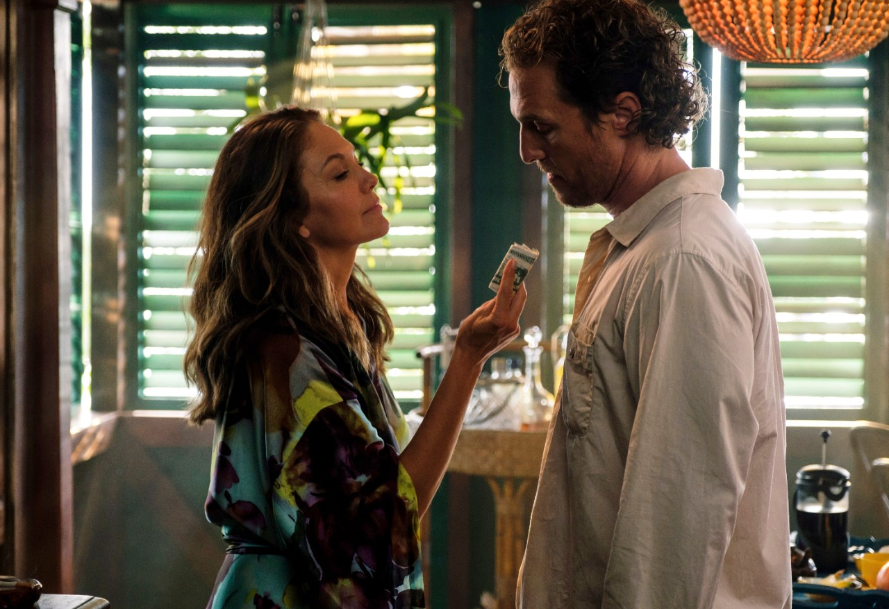 Diane Lane and Matthew McConaughey in 'Serenity'