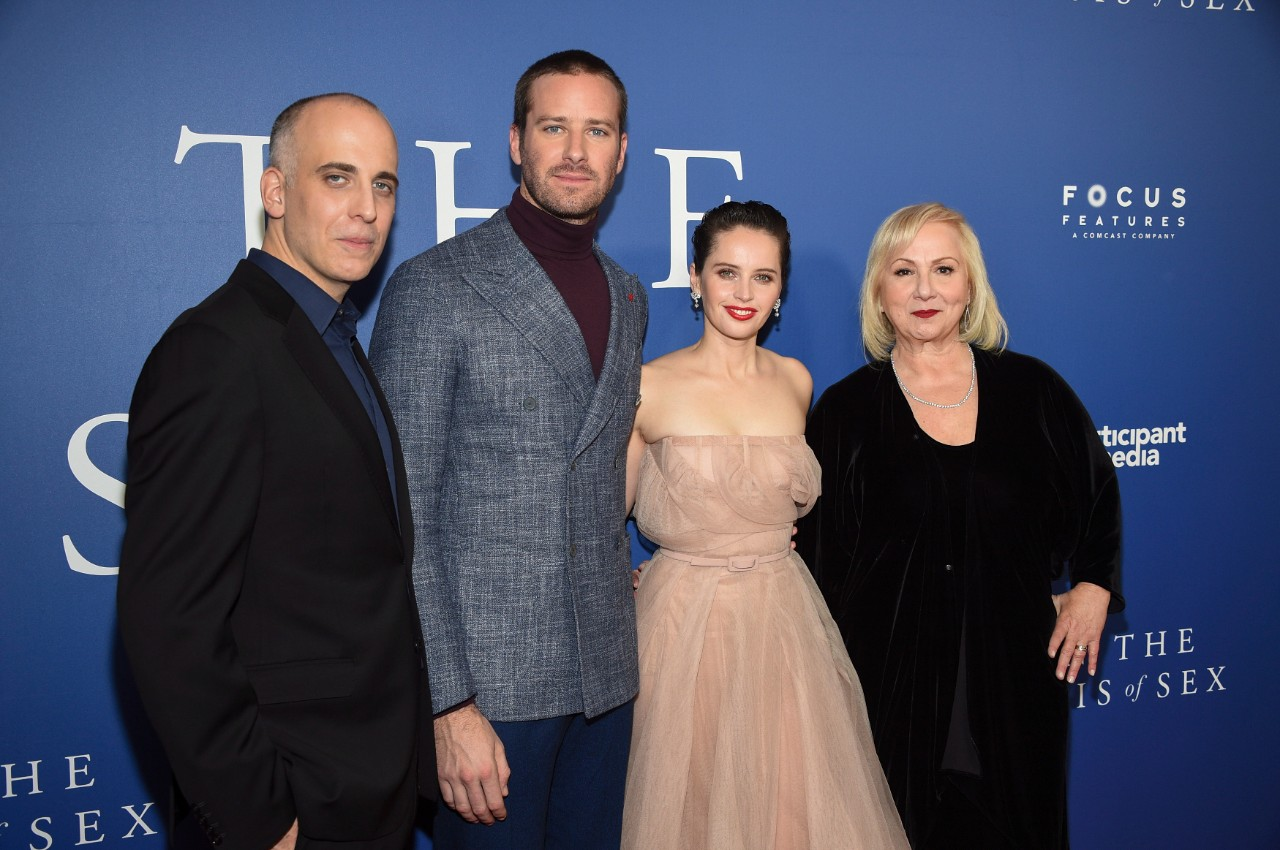 At a special screening of 'On The Basis of Sex' in New York, on Dec. 16, 2018. (Evan Agosti / Invision / AP)
