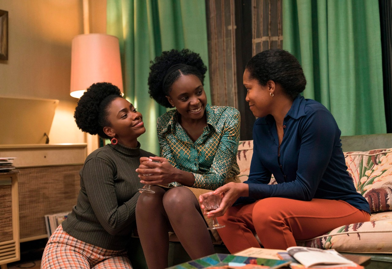 Teyonah Parris, KiKi Layne and Regina King in a scene from 'If Beale Street Could Talk.' (Tatum Mangus / Annapurna Pictures via AP)