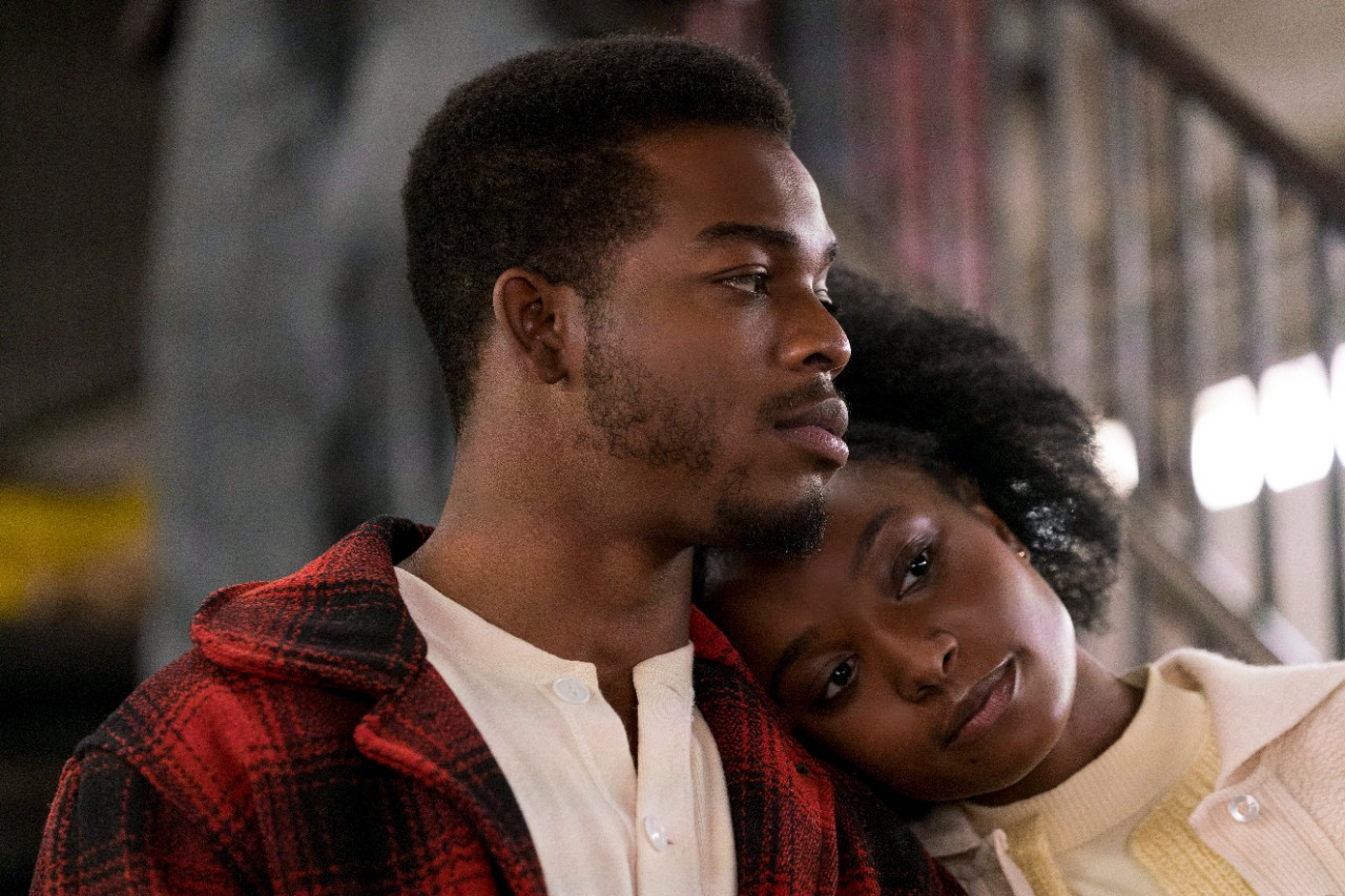 Stephan James and KiKi Layne in a scene from 'If Beale Street Could Talk.' (Tatum Mangus / Annapurna Pictures via AP)
