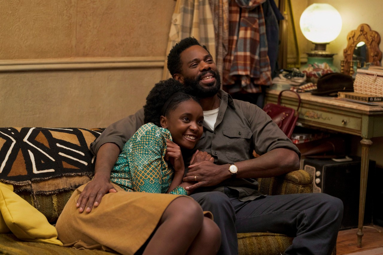 KiKi Layne, left, and Colman Domingo in 'If Beale Street Could Talk.' (Tatum Mangus / Annapurna Pictures via AP)
