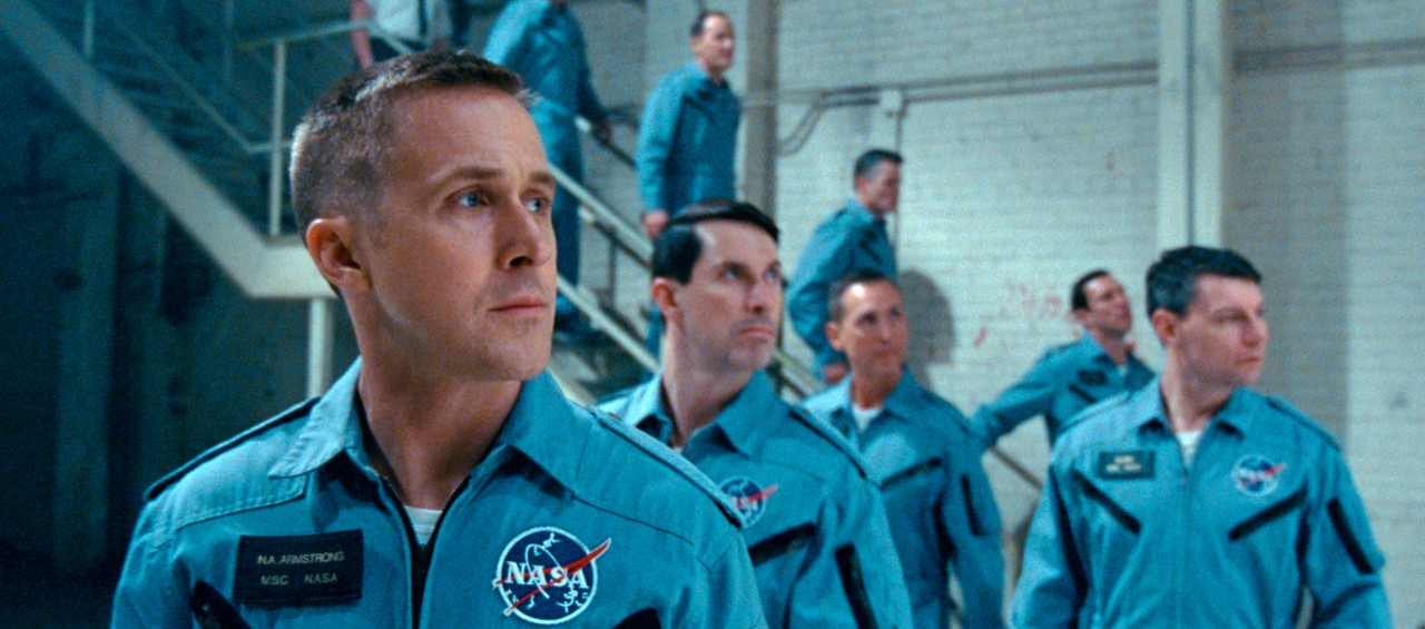 Ryan Gosling in a scene from 'First Man.' (Universal Pictures via AP)