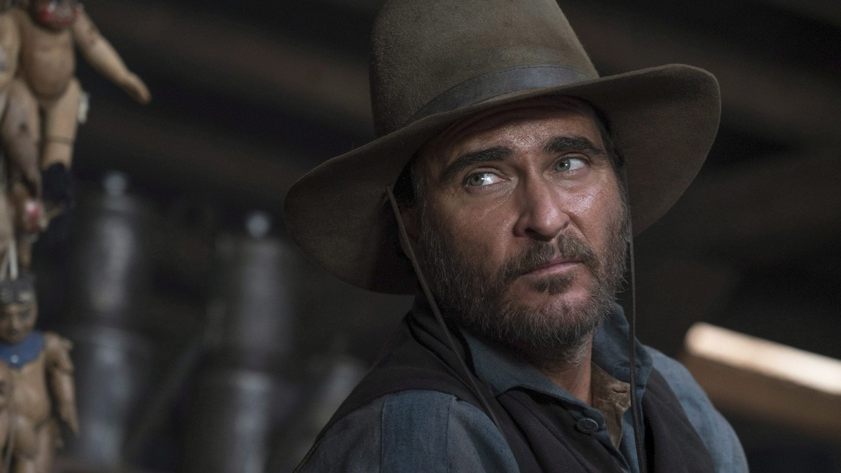 Joaquin Phoenix in 'The Sisters Brothers'