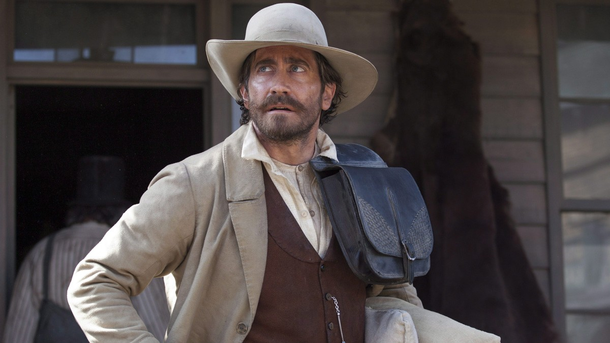 Jake Gyllenhaal in 'The Sisters Brothers'